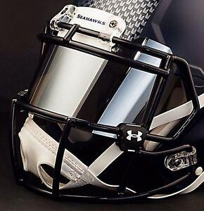 SEATTLE SEAHAWKS NFL UNDER ARMOUR Football Helmet MIRROR Eye Shield / Visor