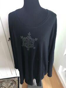 Ulla Popken Langarmiges Shirt Pullover Gr. 60 62 5 XL