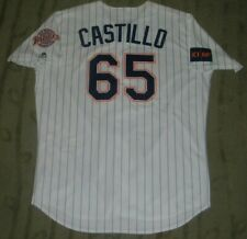SAN DIEGO PADRES JOSE CASTILLO GAME USED WORN 1998 TBTC JERSEY WITH MLB HOLOGRAM