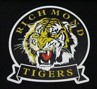 10 PACK RICHMOND TIGERS AFL LOGO MEGA SPOT CAR DECAL STICKER BOAT LARGE