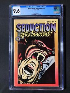 Seduction of the Innocent #3 CGC 9.6 (1985) - 1 of 1 CGC Copy!