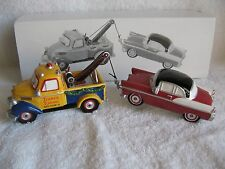 DEPT 56 - Snow Village - TERRY'S TOWING - NEW - Set of 2 - #54895