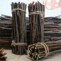 25pcs Natural Wood Sticks Tree Branch For Rustic Wedding DIY Crafts 10cm