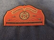 Vintage Atc Superior Needle Book (Rust Resistant)