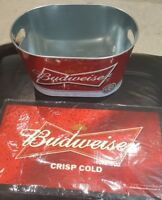 BUDWEISER GIFT SET PUB/BAR/MANCAVE BRAND NEW ITEMS