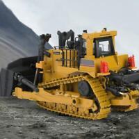 HUINA 1700 1/50 Metal Bulldozer Vehicle RC Engineering Construction Car Model Q