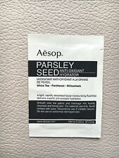 NEW AESOP PARSLEY SEED ANTI OXIDANT SERUM HYDRATE FACIAL CREAM TRAVEL RRP£49 1.5