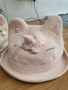 Girls Monsoon Unicorn Hat 1-3 Years