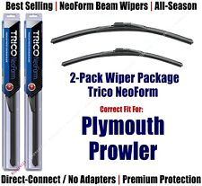 2pk Super-Premium NeoForm Wipers fit 1999-2001 Plymouth Prowler 16170/190