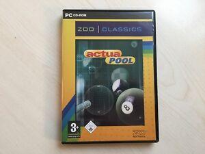 Actua Pool Zoo Digital PC Game Windows