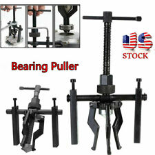 3 Jaw Inner Bearing Puller Gear Extractor Heavy Duty Automotive Machine Black US