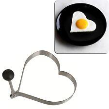 Emporte pièce en forme de coeur pour oeufs Omelettes - Moule Inox Cuisine Poêle