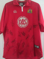 Bristol City 2001-2002 Squad Signed Home Football Shirt /40668