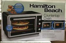 Countertop Toaster Oven Black with Convection and Rotisserie by  Hamilton Beach
