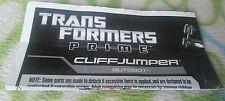 TRANSFORMERS PRIME CLIFFJUMPER INSTRUCTION BOOKLET ONLY