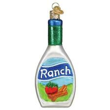 Old World Christmas RANCH DRESSING (32443)N Glass Ornament w/ OWC Box