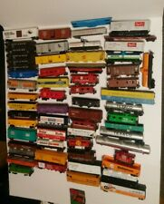 HUGE HO Train Lot 63 Athearn/Tyco/Bachmann etc Rolling Stock Parts/Repair Lot
