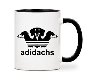 Fun Dachshund  Novelty Ceramic Coffee Mug Gift Sausage Dog Cute