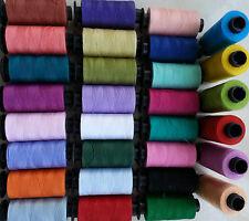 30 Grande CUCITO 100% PURO FILO DI COTONE 30 bei colori