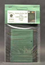 GreenLine GL-055 Oak leaves - 225 pcs laser cut paper 1:35 diorama scenery