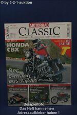 Motorrad Classic 4/07 Honda CBX Norton 750 S Benelli 50