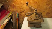 Antique Parker Victor Lap Top Coffee Grinder Mill