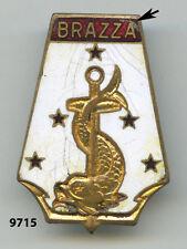 Insigne marine marchande , Chargeurs Réunis / BRAZZA