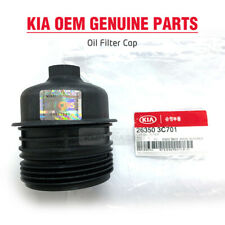 OEM Genuine Parts 26350-3C701 Engine Oil Filter Cap for HYUNDAI KIA Vehicles