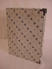 Disney Mickey Mouse School Business Binder Paper Holder 9x12 3/4