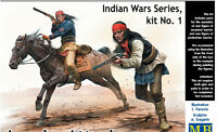 Master Box 35188 - 1/35 - Indian Wars Series, kit No. 1. Apache Attack
