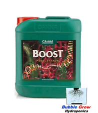 CANNA BOOST ACCELERATOR 5L - HYDROPONICS NATURAL BLOOM/FLOWER NUTRIENTS