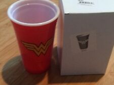 New DC Wonder Woman Reusable Red Party Cup Marvel in box