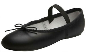 Ballet Dance Leather Split Sole Shoes Children's and Adult's Sizes