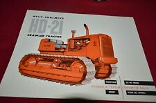 Allis Chalmers HD-21 Dealers Brochure YABE11 VER93