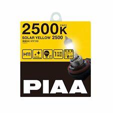 PIAA halogen bulb solar yellow 2500K H11 12V55W 2 pieces HY110