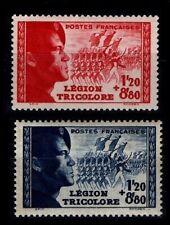 """""""Légionnaires"""" de la L.V.F., Neufs ** = Cote 25 € / Lot Timbres France 565 566"""