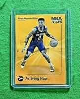 NICKEIL ALEXANDER-WALKER ARRIVING NOW CARD PELICANS 2019-20 NBA HOOPS BASKETBALL