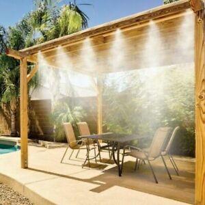 7.5 meter Misting Cooling System Kit Garden Sprinkler Nozzle