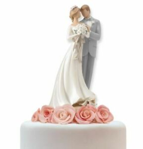 Legacy of Love Bride and Groom Wedding Cake Topper Figurine 4020315 New