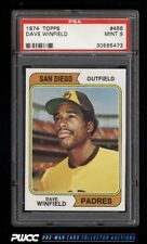 1974 Topps Dave Winfield ROOKIE RC #456 PSA 9 MINT (PWCC)