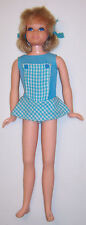 Vintage Blonde Pose 'n Play Skipper Doll #1117 OSS Bendable Legs Living TNT '73