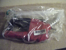 Fill-Rite 1 Inch Automatic Gas Pump Fuel Hose Nozzle with Hook, Red New Package