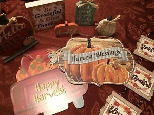 Thanksgiving Decorations -assorted