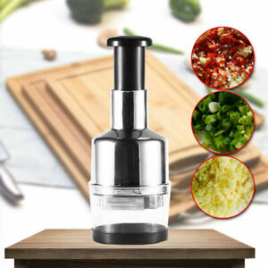 Food Cutter Kitchen Slap Chop Garlic Onion Slicer Chopper Vegetable  Dicer Tool