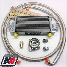 Mocal 16 Row Black Oil Cooler Kit Hispec Universal Competition 80 Deg Thermostat