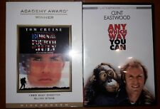 2 DVD Lot:Born On The Fourth Of July & Any Which Way You Can Tom Cruise Eastwood