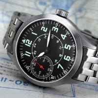PILOTMolnija 3602 AVIA CLASSIC russische mechanische Uhr Fliegeruhr Handaufzug