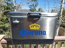 Coleman cooler -Corona Stainless Steel Beer Cooler 54 quart