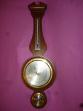 Weather Station Airguide Banjo Brass Barometer Thermo. Humidity Ec