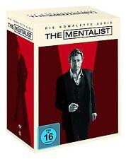 The Mentalist Komplettbox 1-7 [DVD] NEU DEUTSCH Season Staffel 1+2+3+4+5+6+7